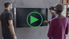 video Microsoft Surface HUB